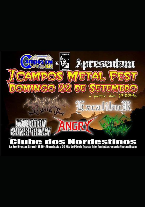 CAMPOS METAL FEST
